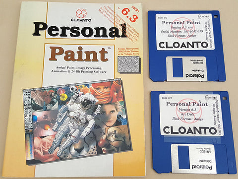Personal Paint v6.3 ©1992-1995 Cloanto for Commodore Amiga
