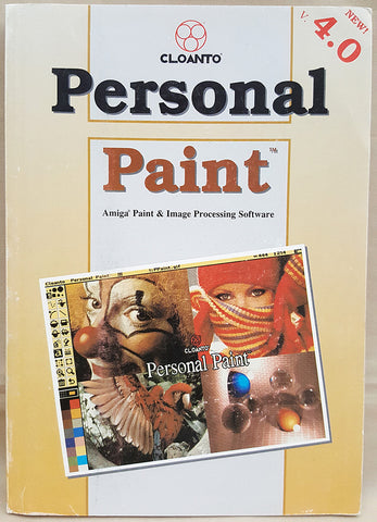 Personal Paint v4.0 ©1992-1994 Cloanto Manual Only for Commodore Amiga