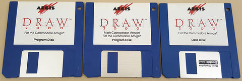 Aegis Draw 2000 v1.0 ©1988 Aegis Development Inc. for Commodore Amiga