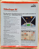 VideoScape 3D - 1987 Aegis Development Inc. for Commodore Amiga