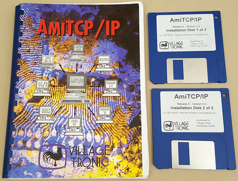 AmiTCP/IP Release 4 v4.3 ©1995 NSDi/Village Tronic Network Protocol for Commodore Amiga