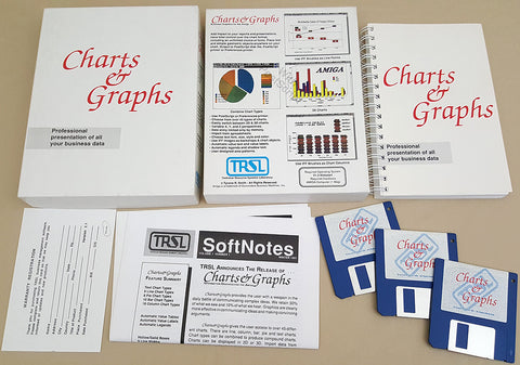 Charts & Graphs v2.1 ©1991 TRSL for Commodore Amiga
