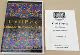 CellPro ©1990 Daniel Wolf Ph.D. Manual & Clamshell Case Only for Commodore Amiga