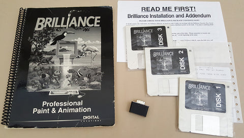 Brilliance! & True Brilliance! v1.0 ©1993 Digital Creations for Commodore Amiga