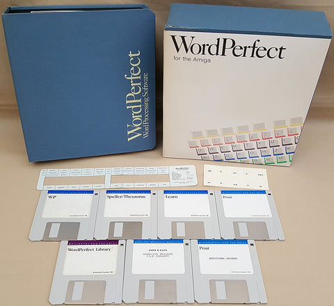 WordPerfect v4.1 ©1990 WordPerfect Corporation for Commodore Amiga