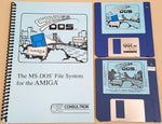 CrossDOS v3.07 & v4.02a ©1990-91 Consultron - MS-DOS File System for Commodore Amiga