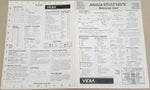 Amiga GRAPHICS Reference Card ©1990 Richard Lucas VIDIA for Commodore Amiga