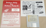 Deluxe Help for Deluxe Paint II ©1987 RGB Video Creations for Commodore Amiga