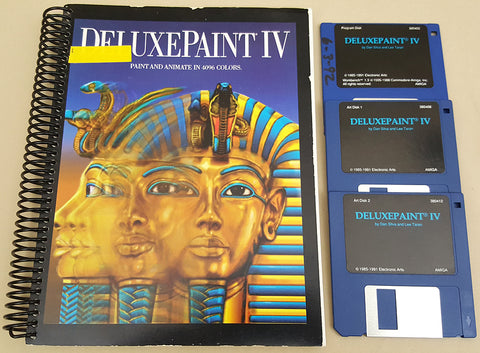 Deluxe Paint IV v4.1 - 1991 EA Electronic Arts for Commodore Amiga