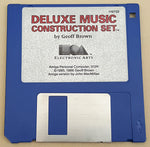 Deluxe Music v1.0 ©1986 EA Electronic Arts for Commodore Amiga