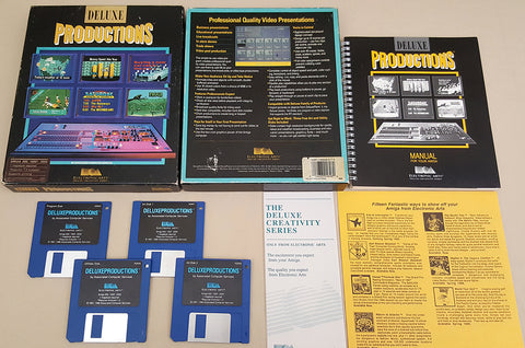 Deluxe Productions ©1988 EA Electronic Arts for Commodore Amiga