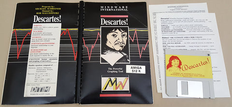 Descartes! v1.0 ©1987 Mindware International for Commodore Amiga