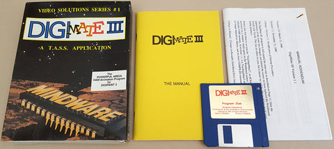 DigiMATE III v1.1 for DigiPaint 3 ©1990 Mindware International for Commodore Amiga