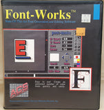 Font-Works Manual Only ©1989 Associated Computer Services for Commodore Amiga