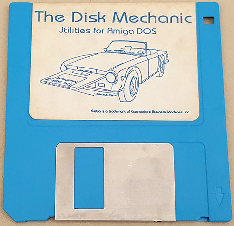 The Disk Mechanic - 1988 Lake Forest Logic Inc. for Commodore Amiga