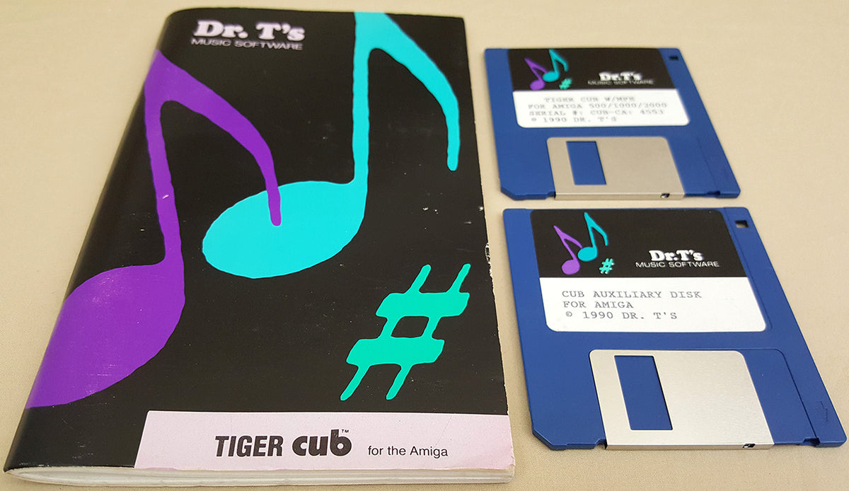 Dr  T's Tiger Cub wMPE v1 05 - 1990 Dr  T's Music Software for Commodore  Amiga