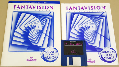 FantaVision v06.01.88 - 1988 Broderbund Software for Commodore Amiga