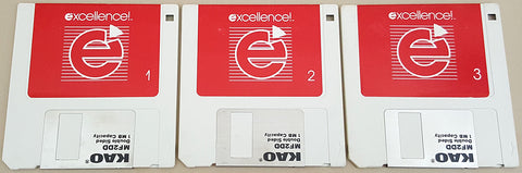 Excellence! v1.12 wUpgrade 2.0 - 1988 Micro-Systems Software for Commodore Amiga