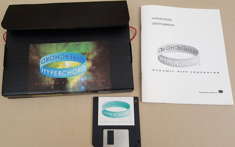 Hyperchord v1.0 - 1990 Hologramophone Research Inc. for Commodore Amiga