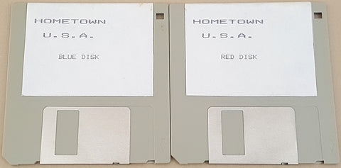 Hometown U.S.A. - 1990 NES Inc. by Software Technology for Commodore Amiga