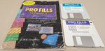PRO FILLS Vol.1 & 3 - 1991-93 JEK Graphics for Commodore Amiga