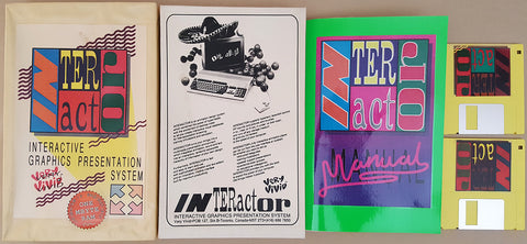 INTERactor v1.0a - 1989 Very Vivid Inc. for Commodore Amiga