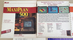 MaxiPlan 500 Spreadsheet v1.9 - 1988 OXXI Inc. for Commodore Amiga