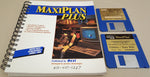 MaxiPlan Plus with Macros Spreadsheet v1.9 - 1988 OXXI Inc. for Commodore Amiga