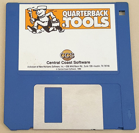 Quarterback Tools v1.5 Disk ONLY - 1991 CSS Central Coast Software for Commodore Amiga