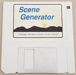 Scene Generator v2.11 Disks ONLY - 1990 Natural Graphics for Commodore Amiga