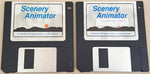 Scenery Animator v1.05 Disks ONLY - 1991 Natural Graphics for Commodore Amiga