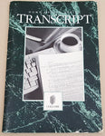 TransScript Word Processor Manual ONLY - 1988 Gold Disk for Commodore Amiga