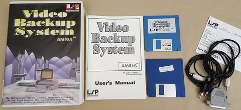 VBS VCR Video Backup System v3.0 - 1994 Lyppens Software Productions for Commodore Amiga