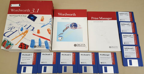 Wordworth v3.1 Word Processor - 1994 Digita International for Commodore Amiga