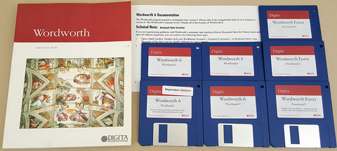 Wordworth v6 Word Processor - 1997 Digita International for Commodore Amiga