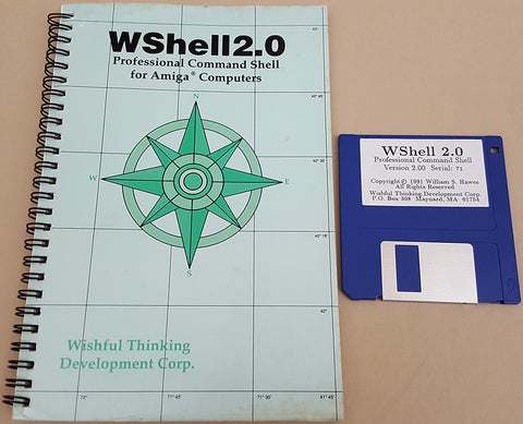 WShell 2.0 - 1991 Williams S. Hawes for Commodore Amiga