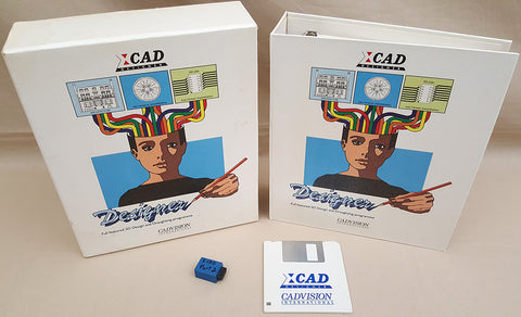 XCAD Designer - 1989 CADVISION International for Commodore Amiga