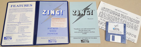 ZING! v1.03 - 1986 Meridian Software for Commodore Amiga