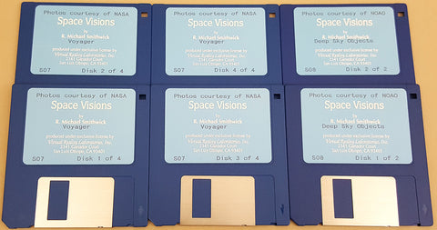 Space Visions Deep Sky Objects & Voyager - Virtual Reality Laboratories for Commodore Amiga