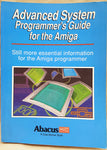 Advanced System Programmer's Guide - 1989 Abacus Book #7 for Commodore Amiga