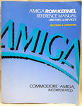 Amiga ROM Kernel Reference Manual Libraries & Devices RKM CBM Book for Commodore