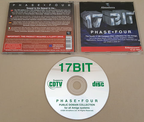17 Bit PHASE IV CD - 1994 Almathera Systems Ltd for Commodore Amiga