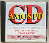 THE OFFICIAL AMOS PD LIBRARY CD 1994 Weird Science for Commodore Amiga CDTV CD32