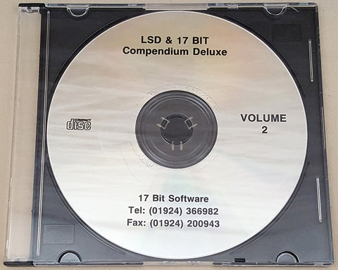 LSD & 17 Bit Compendium Deluxe Vol.2 CD for Commodore Amiga