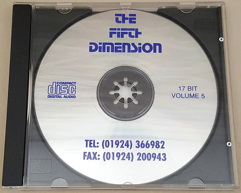 The Fifth Dimension Vol.5 CD 1995 17 Bit Software for Commodore Amiga