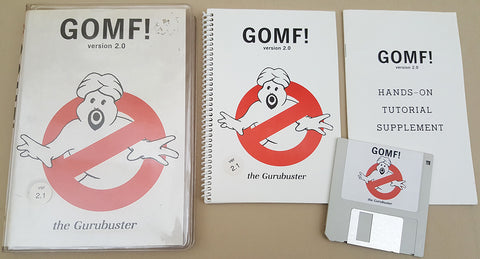 GOMF! v2.0/2.1 - 1987 Hypertek/Silicon Springs for Commodore Amiga
