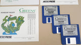 Greens The Ultimate 3-D Golf Simulation - 1991 MicroProse Commodore Amiga Game