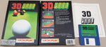 3D POOL - 1989 MicroProse MicroPlay Software Game for Commodore Amiga