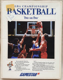 GBA Championship Basketball Two-on-Two 1986 Activision Game for Commodore Amiga