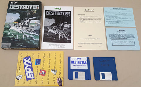 Destroyer - 1987 EPYX Game for Commodore Amiga